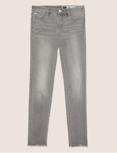SUPER-SKINNY LIFT-UP GREY JEAN