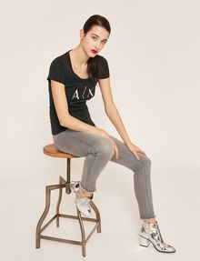 ARMANI EXCHANGE SUPER-SKINNY LIFT-UP GREY JEAN Skinny jeans [*** pickupInStoreShipping_info ***] a