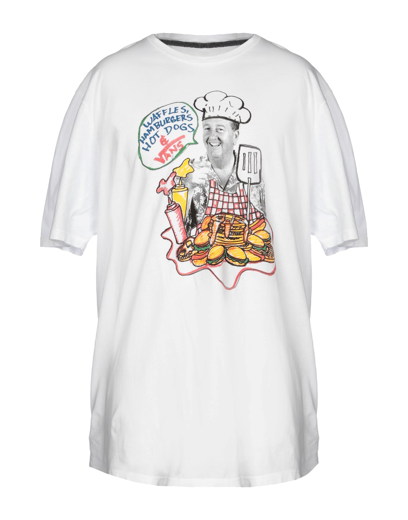 《送料無料》VANS メンズ T シャツ ホワイト XL コットン 100%
