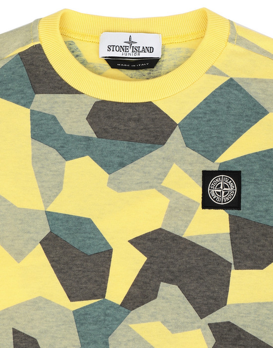 12233263ku - Polo - T-Shirts STONE ISLAND JUNIOR