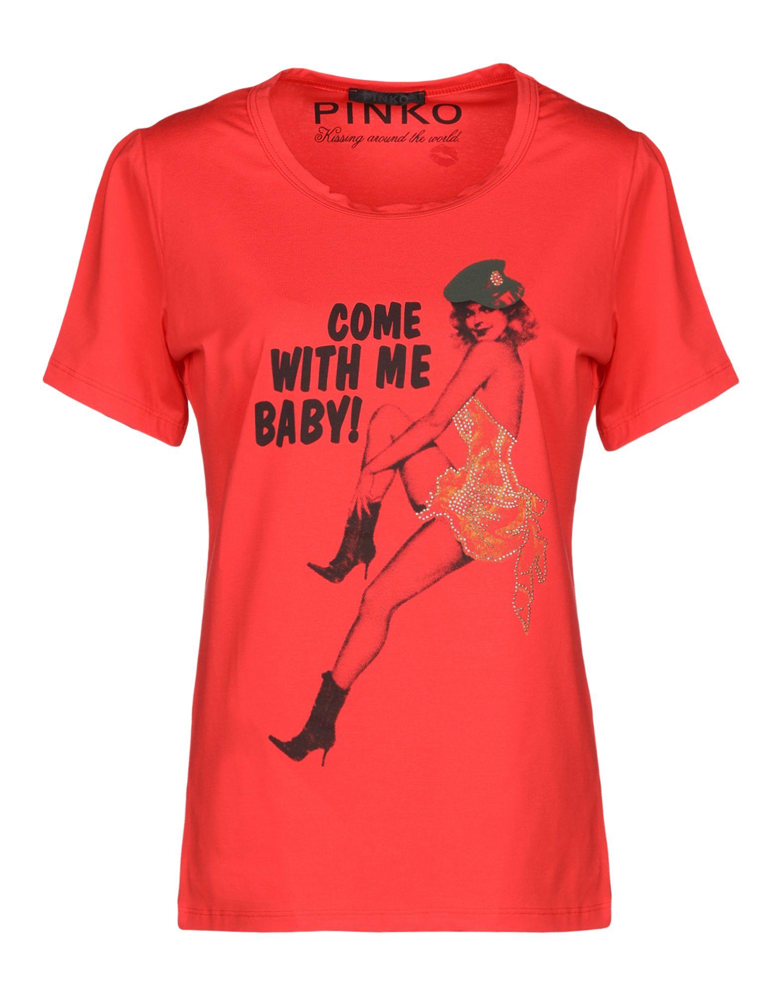 PINKO Футболка футболка pinko pinko pi754ewzkk81