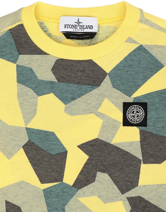 12233334kv - Polo - T-Shirts STONE ISLAND JUNIOR