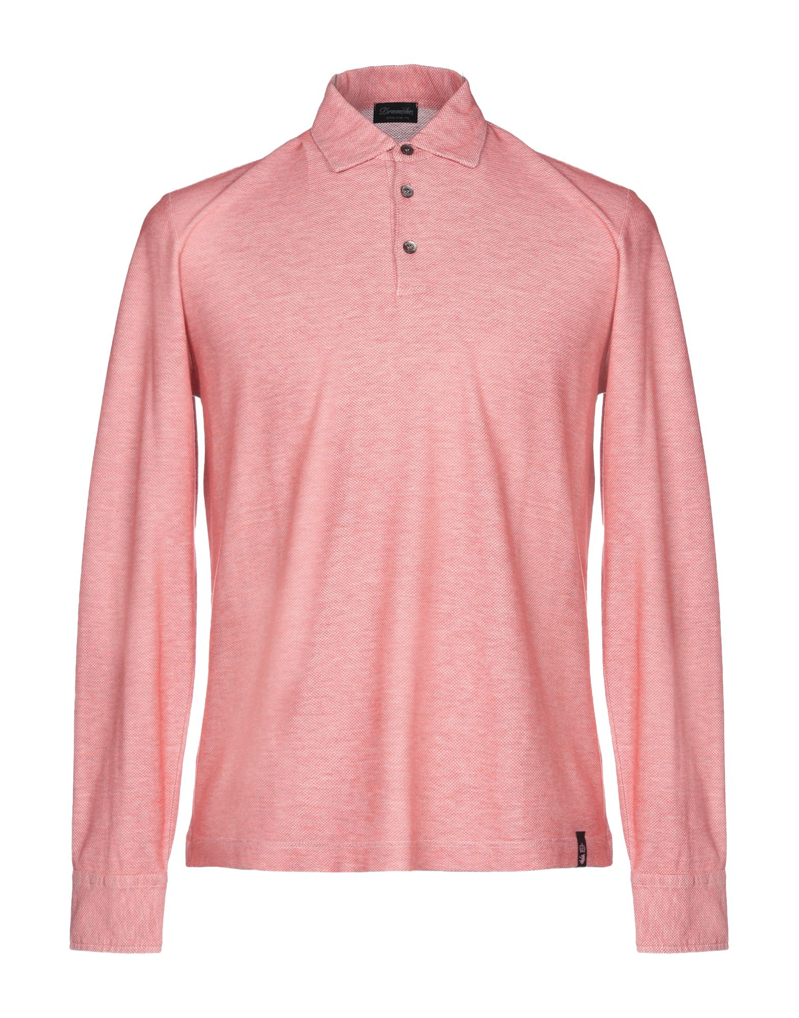 《送料無料》DRUMOHR メンズ ポロシャツ レッド S コットン 100%