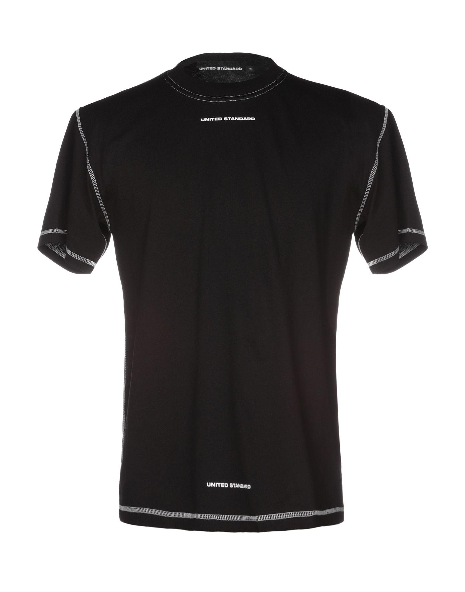 《送料無料》UNITED STANDARD メンズ T シャツ ブラック M コットン 100%
