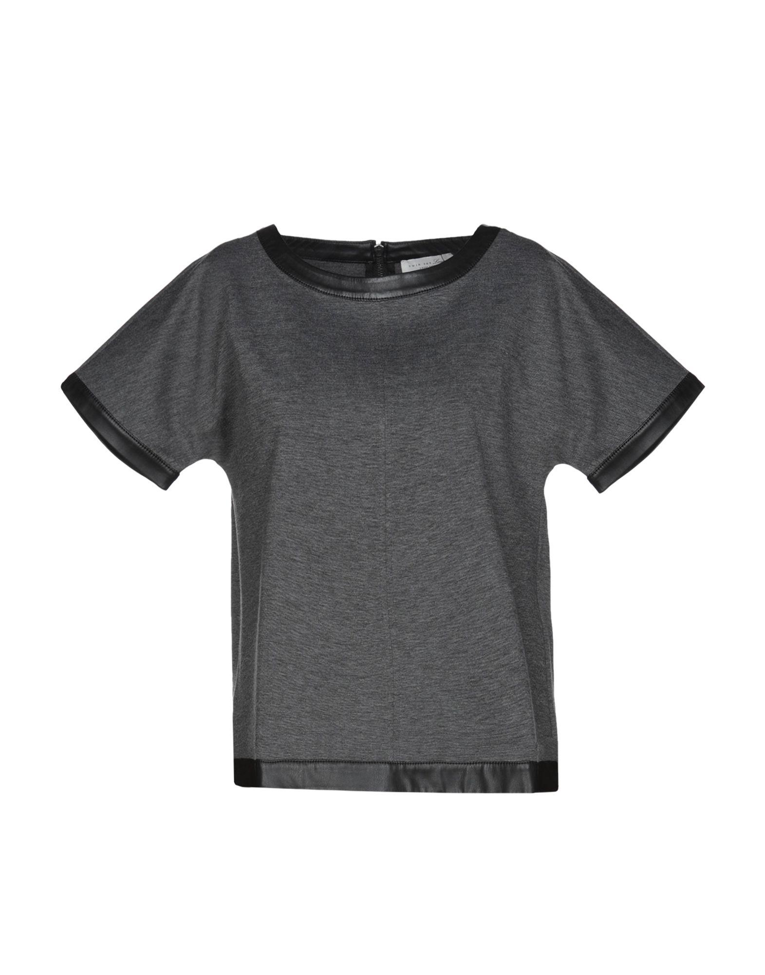 TWIN-SET LINGERIE Футболка sexy black lace lingerie set with no falsies
