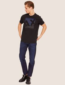 ARMANI EXCHANGE SLIM-FIT CONTRAST LINE DARK INDIGO JEAN SLIM FIT JEANS [*** pickupInStoreShippingNotGuaranteed_info ***] d