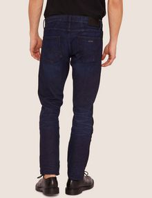 ARMANI EXCHANGE SLIM-FIT CONTRAST LINE DARK INDIGO JEAN SLIM FIT JEANS Man e