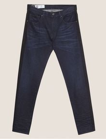 ARMANI EXCHANGE SLIM-FIT CONTRAST LINE DARK INDIGO JEAN SLIM FIT JEANS [*** pickupInStoreShippingNotGuaranteed_info ***] r