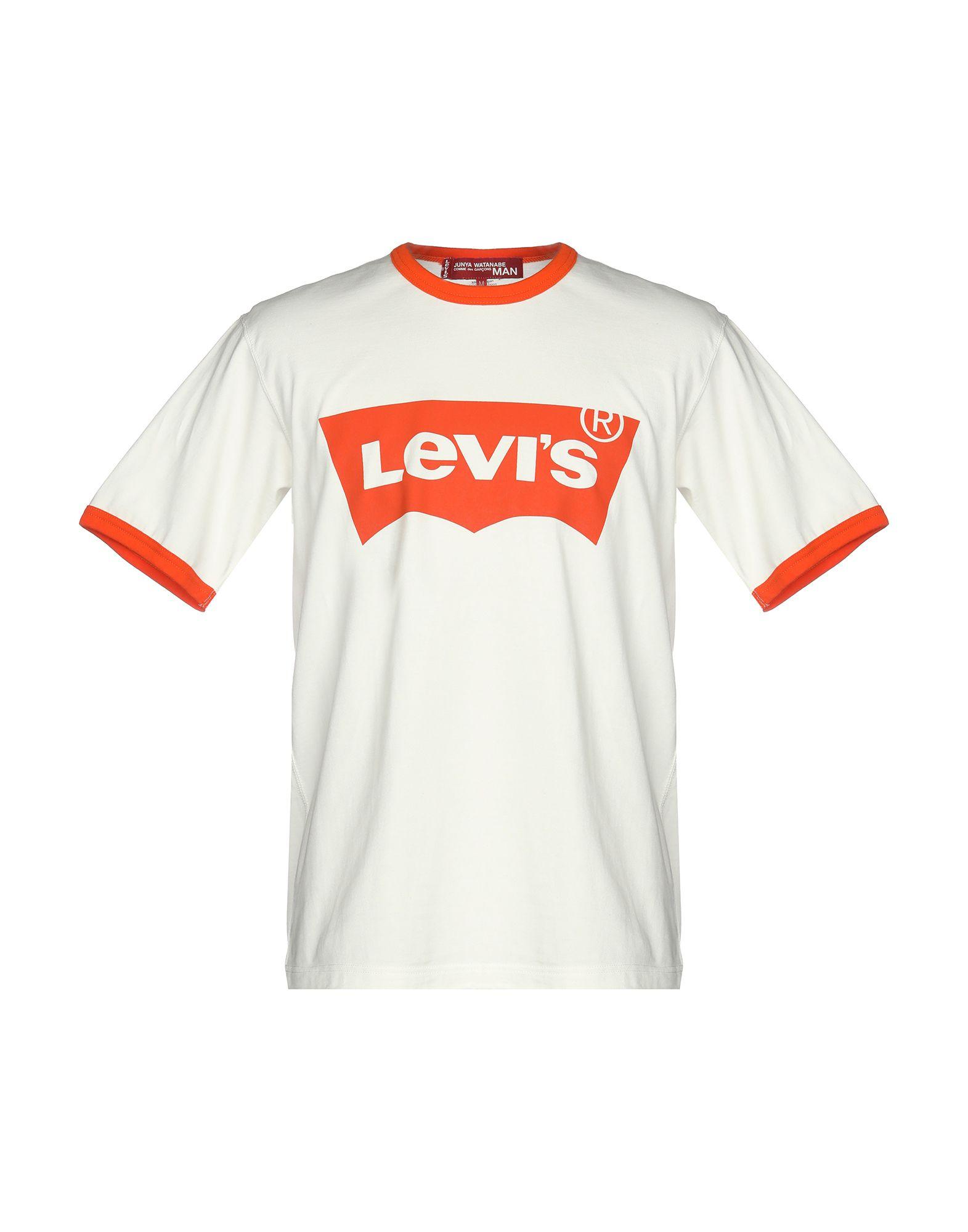 где купить JUNYA WATANABE COMME des GARÇONS MAN X LEVI'S Футболка по лучшей цене