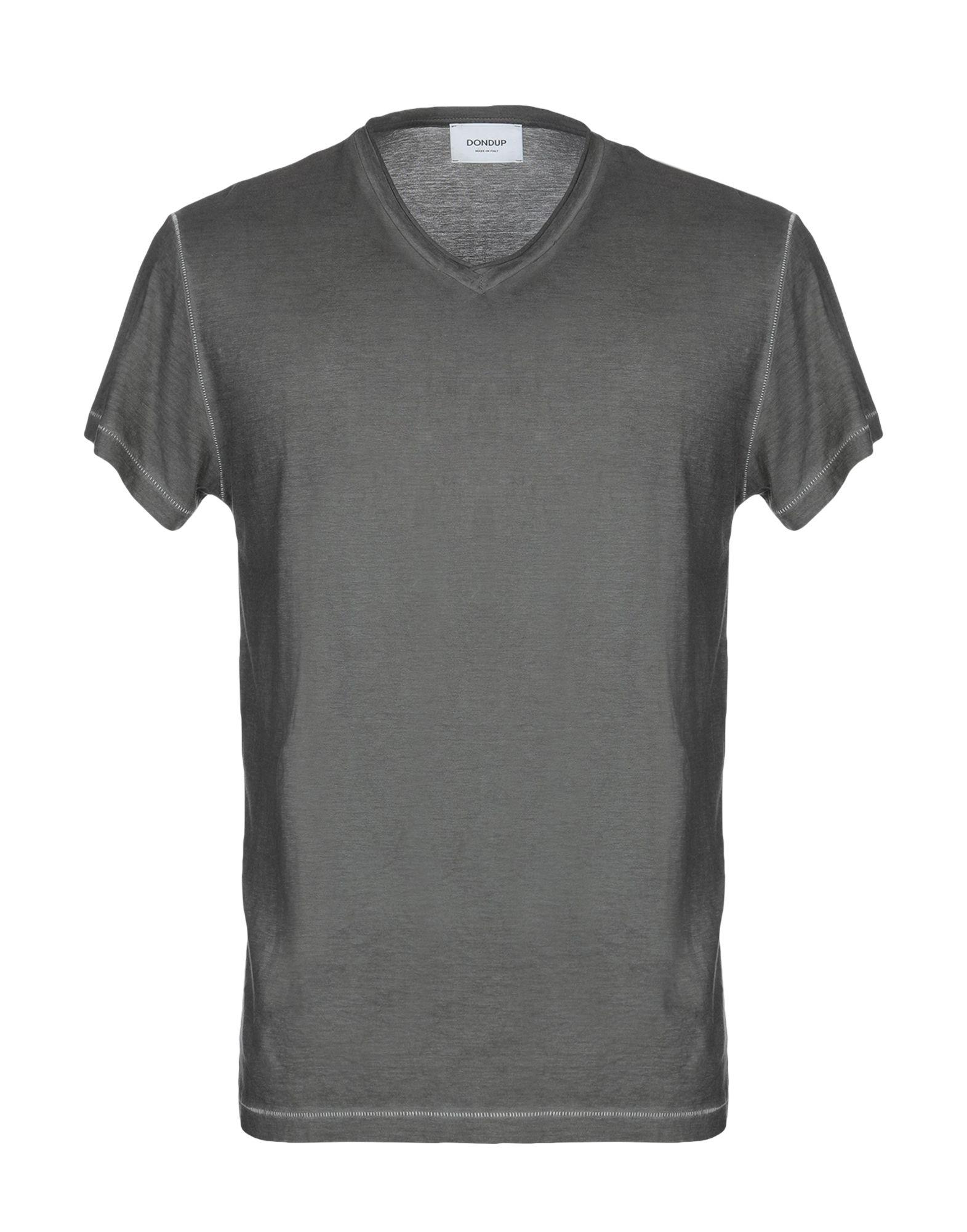 《送料無料》DONDUP メンズ T シャツ 鉛色 XXL コットン 100%
