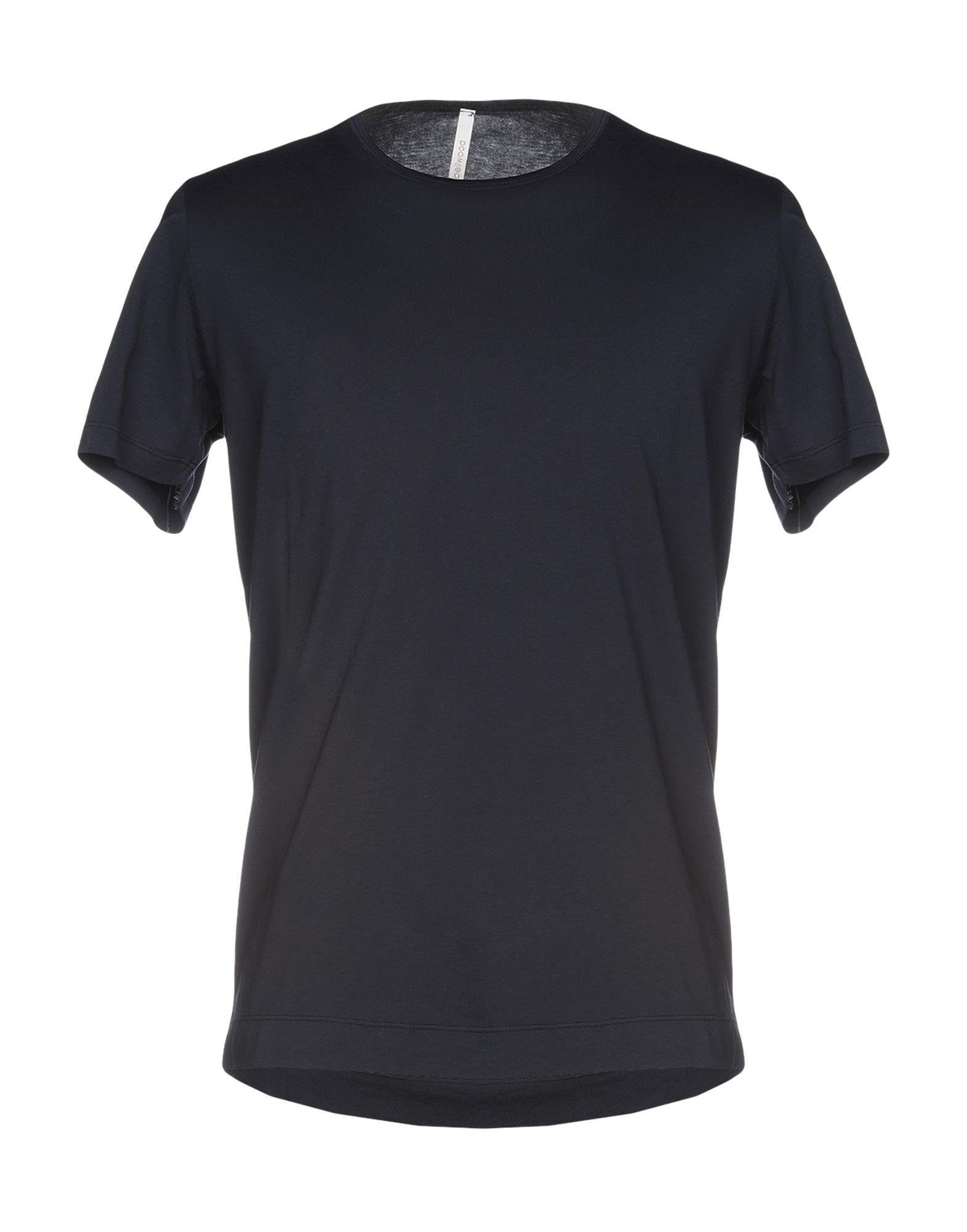 《送料無料》BELLWOOD メンズ T シャツ ダークブルー 48 コットン 100%