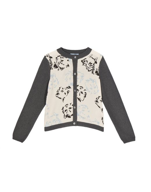 WOOL CAT CARDIGAN - Lanvin