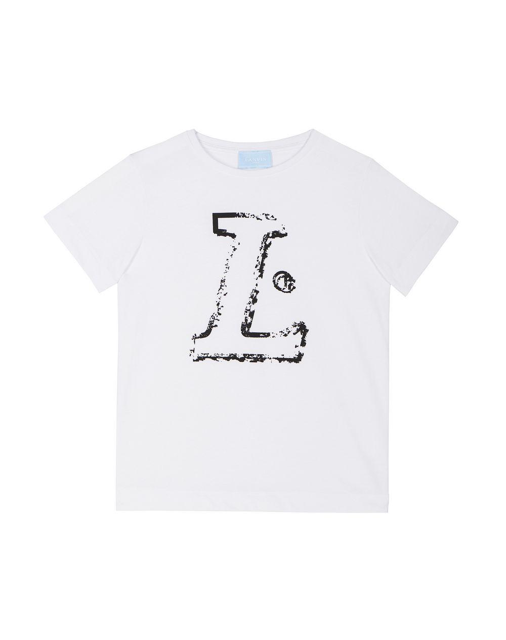 WHITE L T-SHIRT - Lanvin
