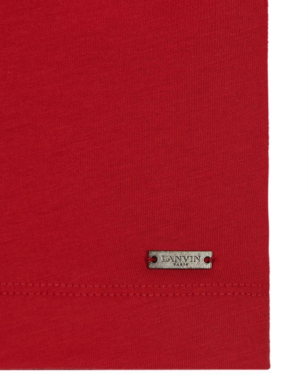 RED PRINT T-SHIRT - Lanvin