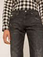 ARMANI EXCHANGE J16 STRAIGHT-FIT DESTROYED AND SPLATTERED JEAN STRAIGHT FIT JEANS [*** pickupInStoreShippingNotGuaranteed_info ***] b