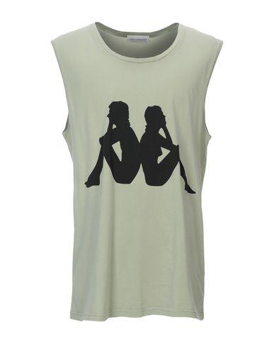 Фото - Женскую футболку KAPPA x FAITH CONNEXION цвет зеленый-милитари