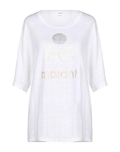 Купить Женскую футболку ISABEL MARANT ÉTOILE цвет слоновая кость