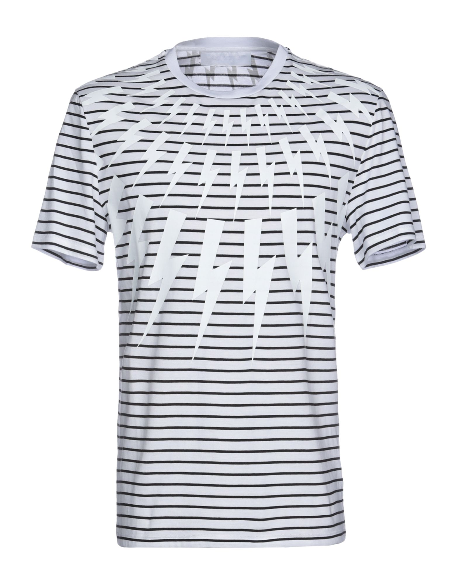 NEIL BARRETT Футболка neil barrett хлопковая рубашка в полоску page 2