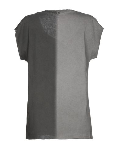 Фото 2 - Женскую футболку REBEL QUEEN by LIU •JO серого цвета