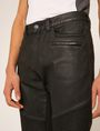 ARMANI EXCHANGE J27 COATED BLACK BIKER JEAN Skinny jeans Man b