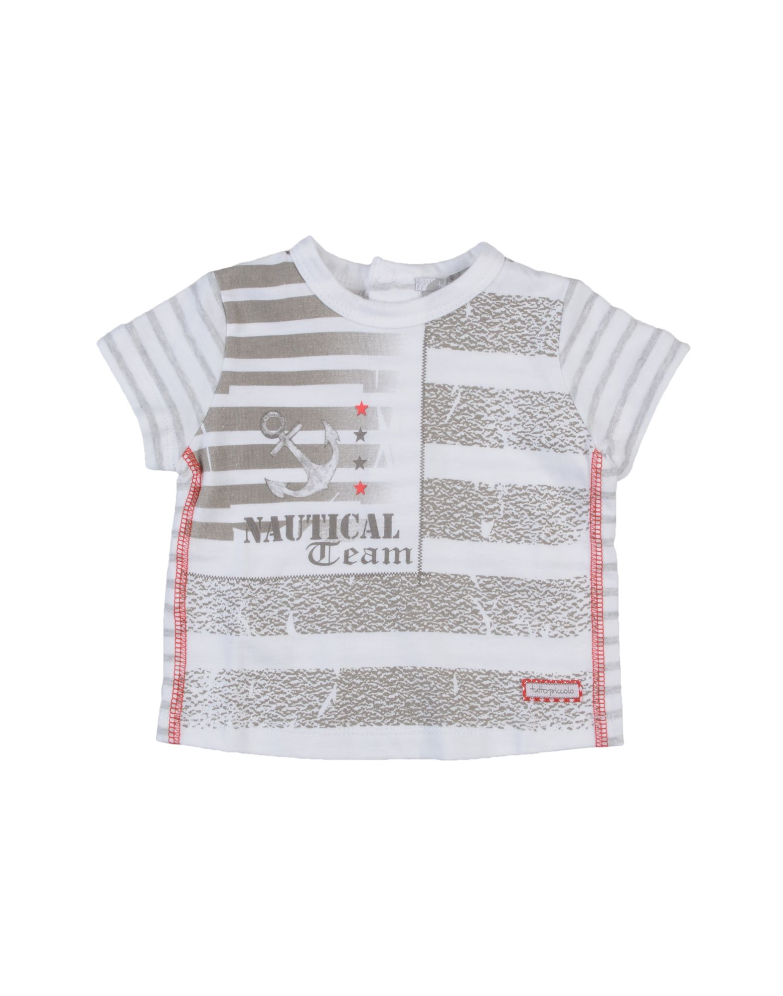 Tutto Piccolo Kids' T-shirts In White