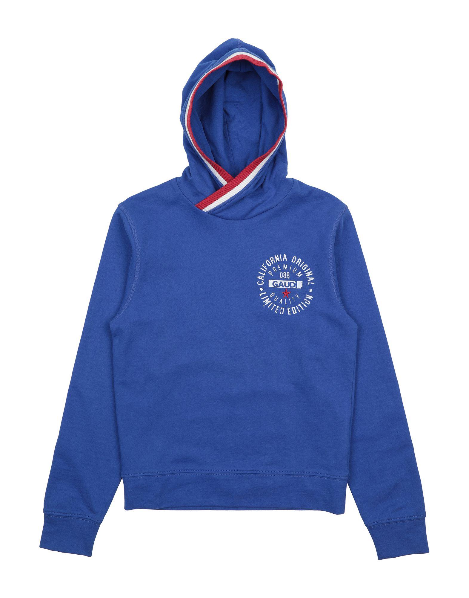 GAUDÌ Jungen 3-8 jahre Sweatshirt6 blau