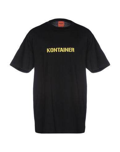 Купить Женскую футболку KONTAINER MERCH. черного цвета