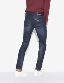 ARMANI EXCHANGE J14 SKINNY-FIT INDIGO PAINTED JEAN Skinny jeans [*** pickupInStoreShippingNotGuaranteed_info ***] e