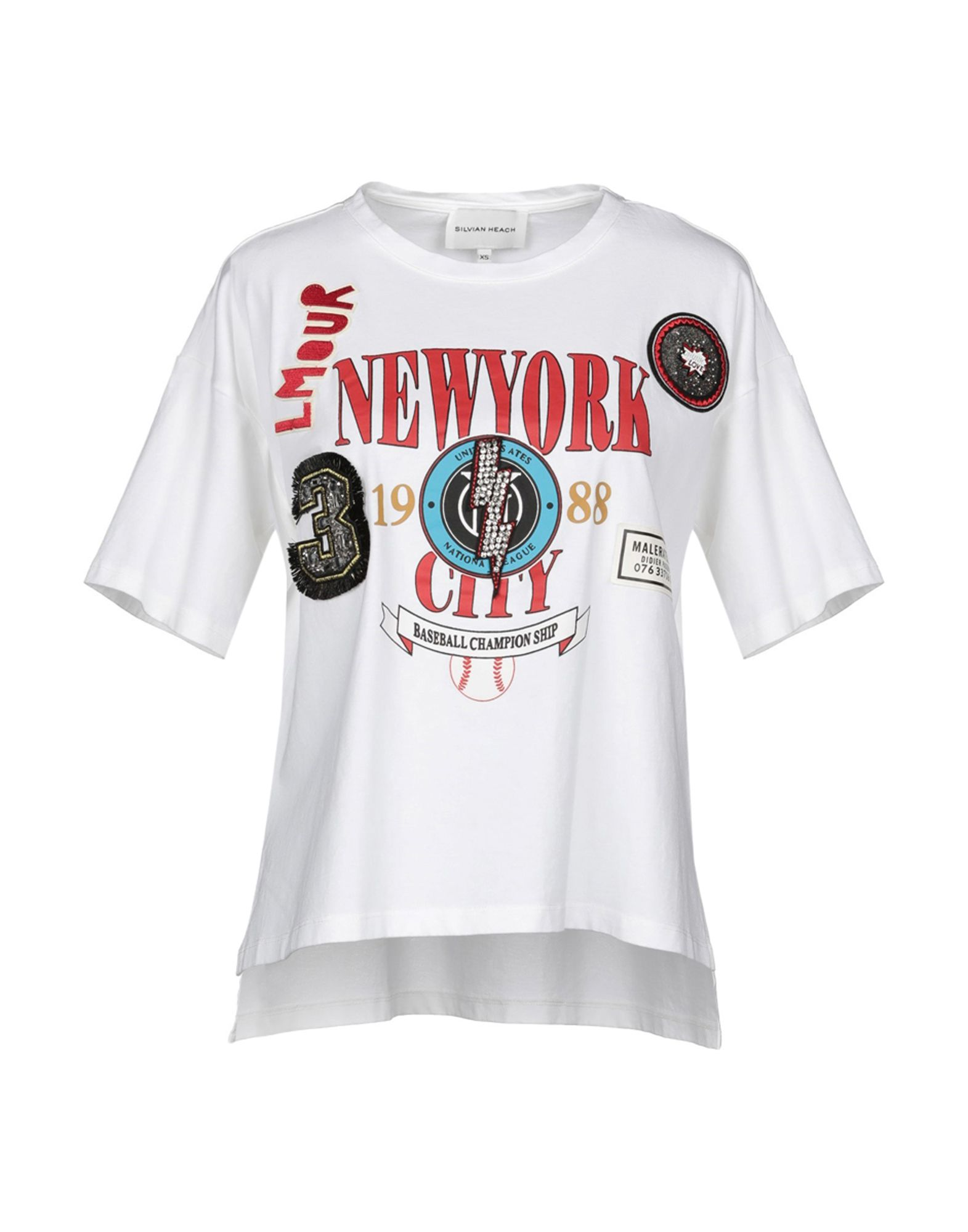 SILVIAN HEACH Футболка футболка silvian heach kids футболка