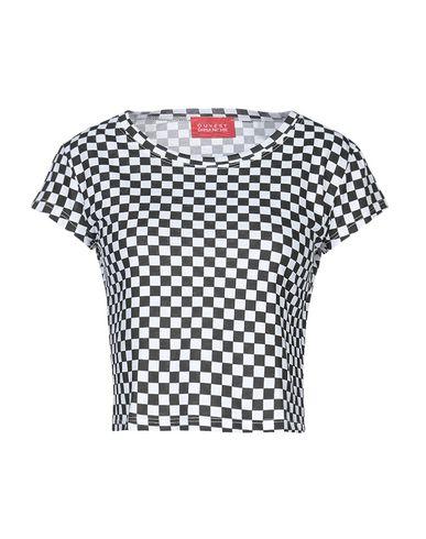 Фото - Женскую футболку OUVERT DIMANCHE черного цвета