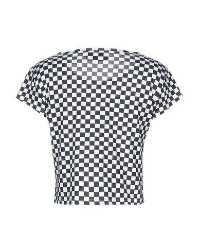 Фото 2 - Женскую футболку OUVERT DIMANCHE черного цвета
