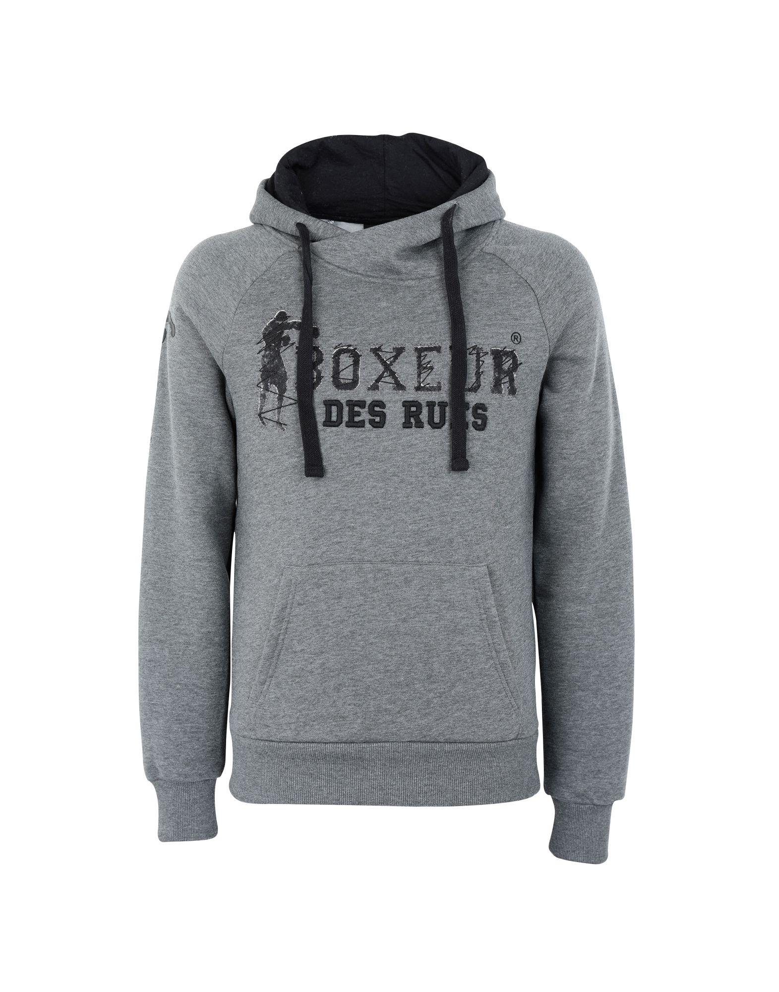 BOXEUR DES RUES Толстовка boxeur des rues low crotch pants with allover pocket