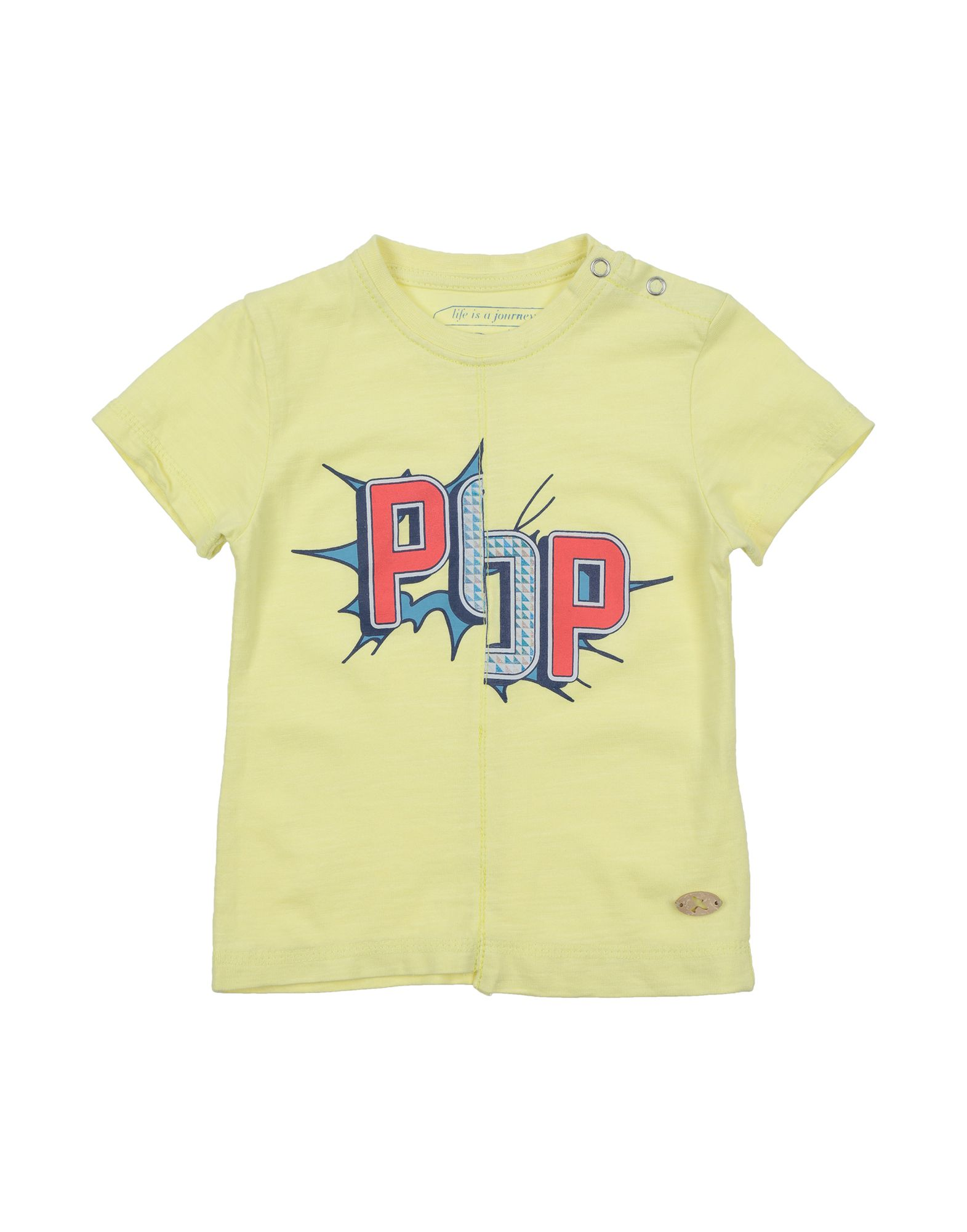 Sp1 Kids' T-shirts In Yellow
