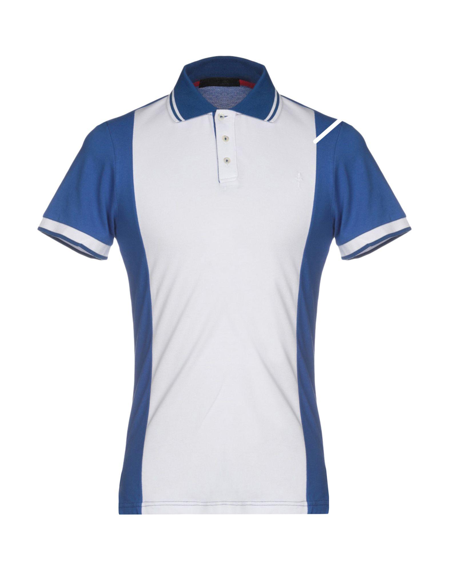 CESARE PACIOTTI 4US Polo Shirts in White