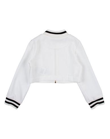 Фото 2 - Куртку белого цвета