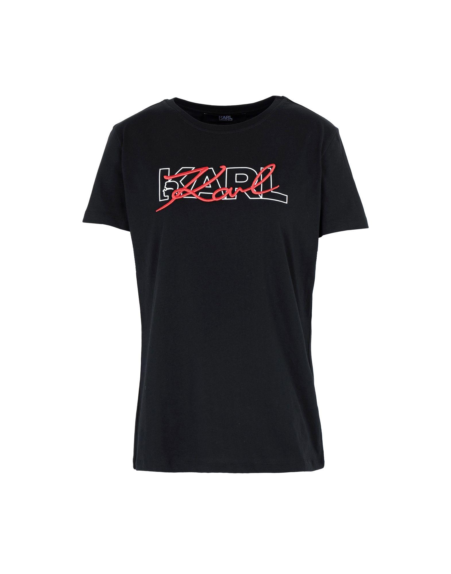 KARL LAGERFELD Футболка сумка karl lagerfeld karl lagerfeld ka025bwuss78