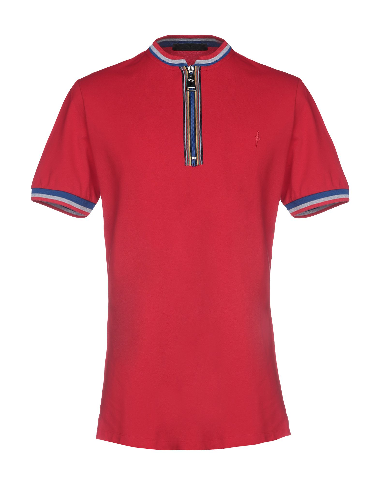 CESARE PACIOTTI 4US T-Shirts in Red