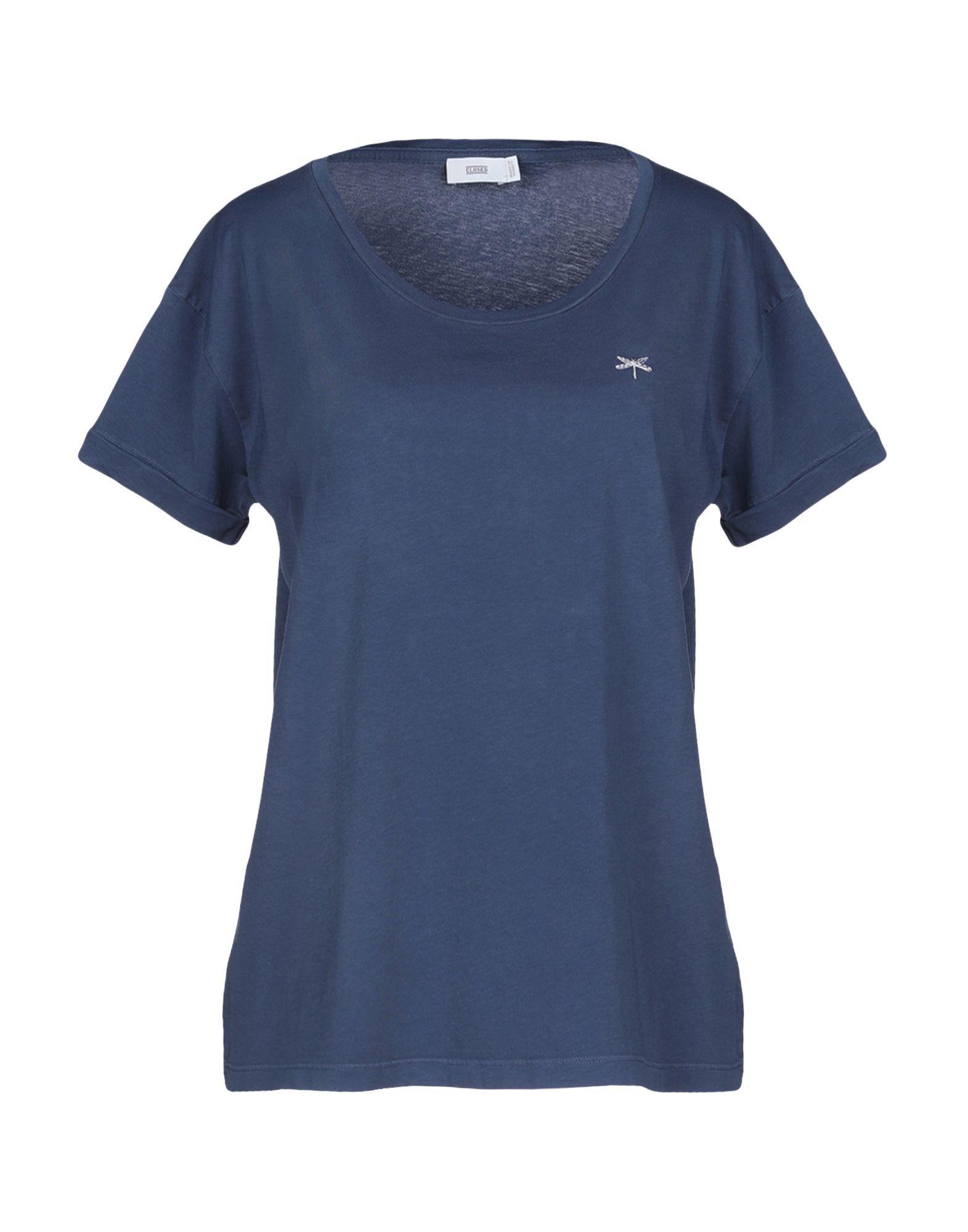 CLOSED Damen T-shirts Farbe Taubenblau Größe 4