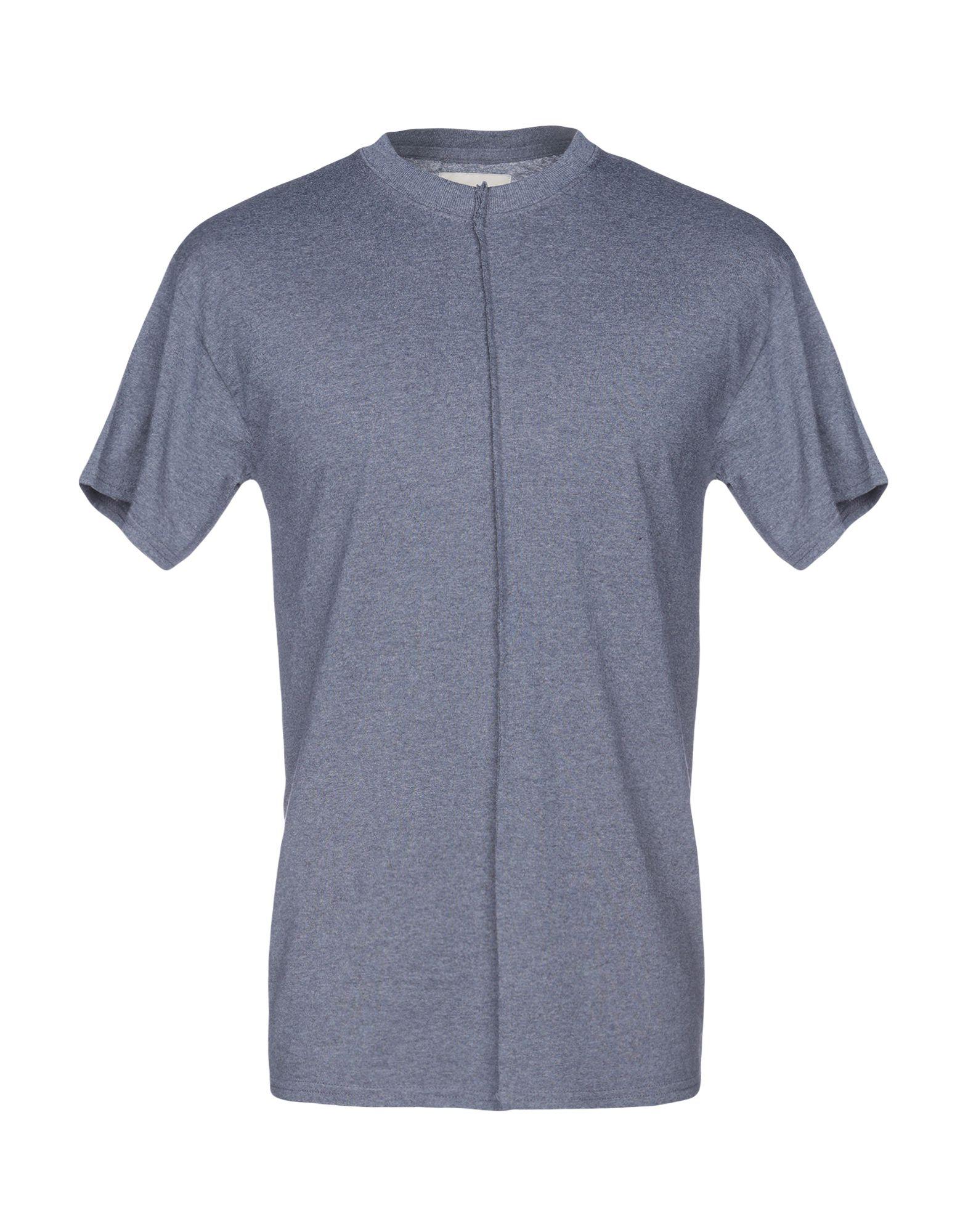 《送料無料》CORELATE メンズ T シャツ ブルーグレー M コットン 100%