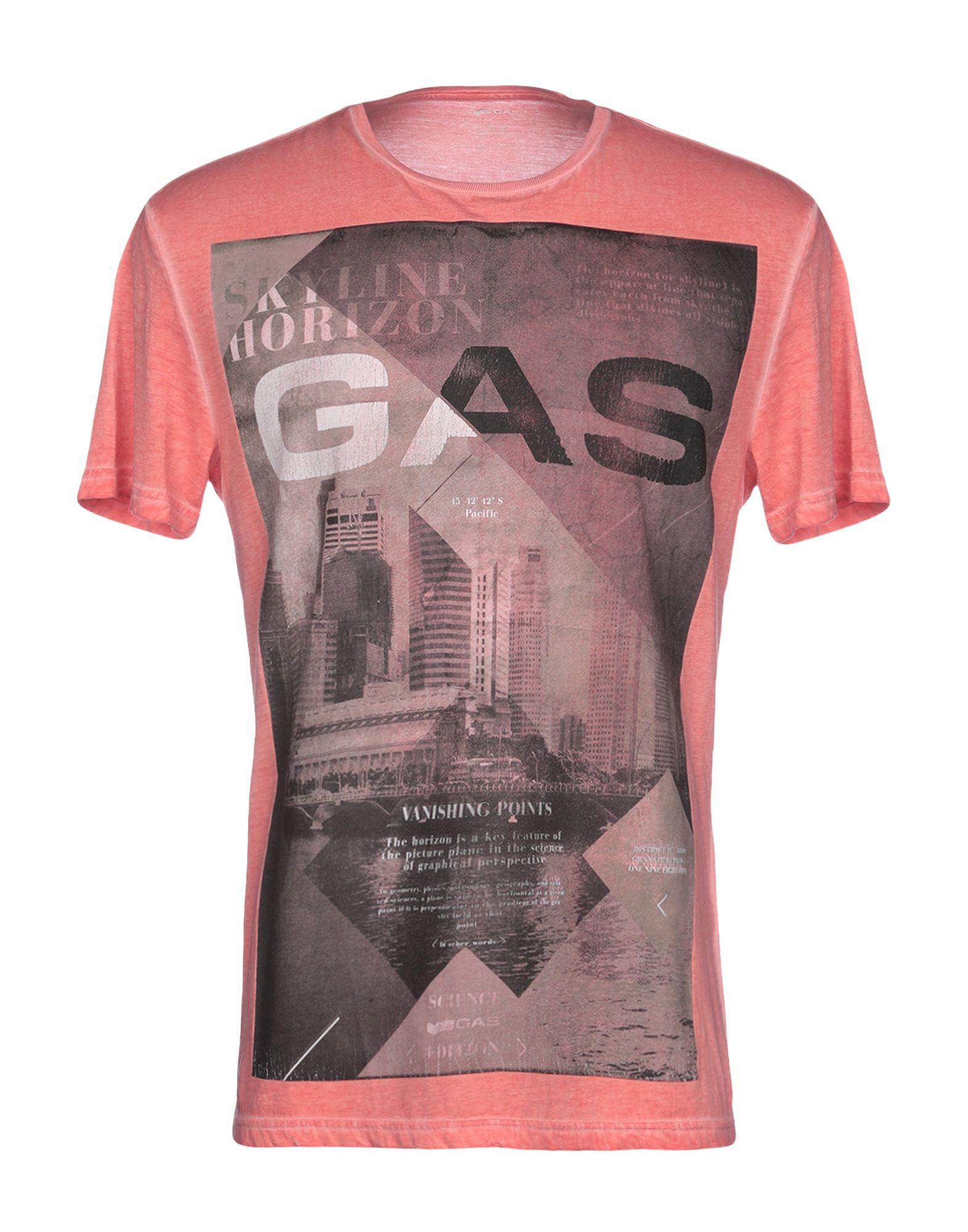 GAS Футболка футболка print bar gas mask girl