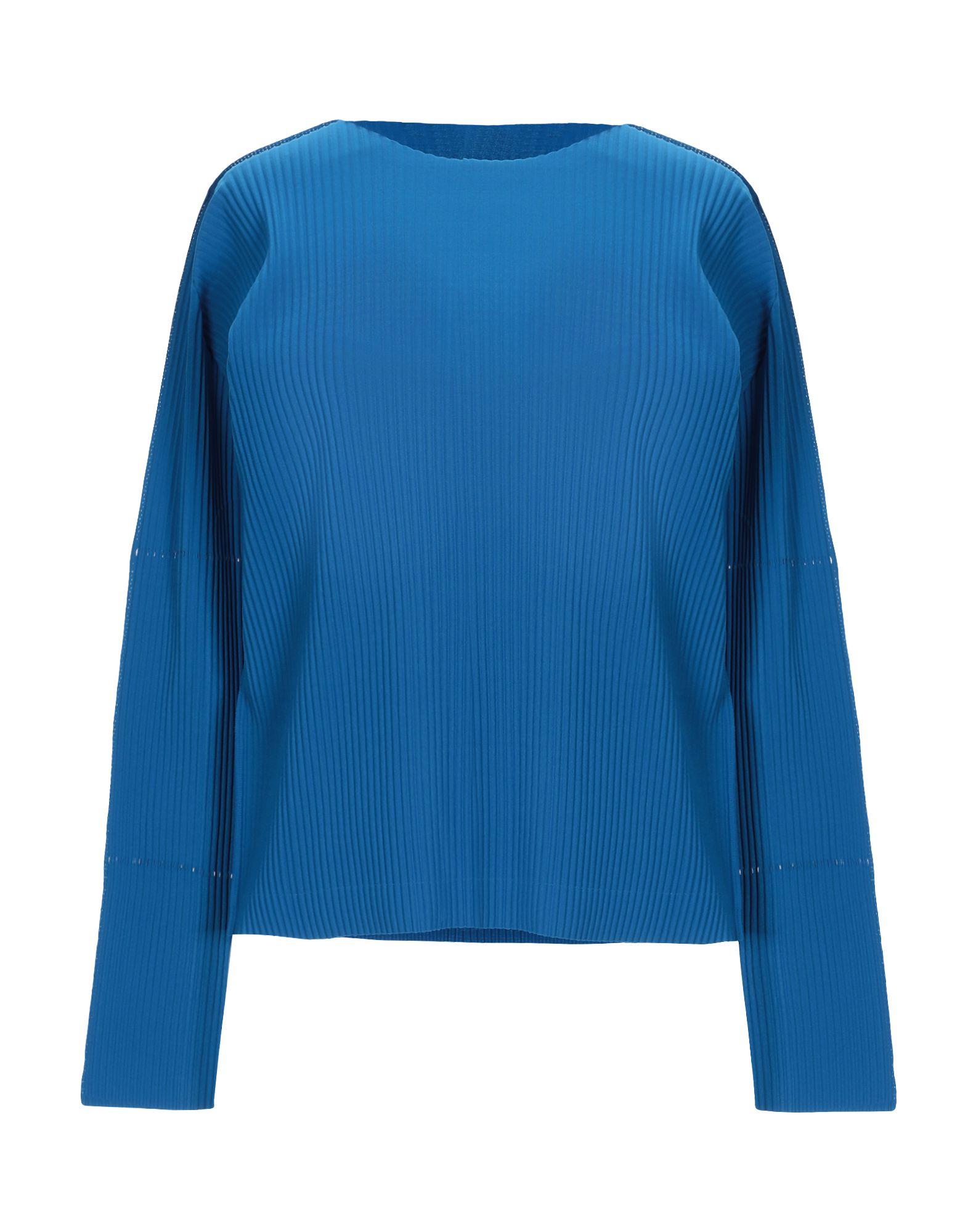 ISSEY MIYAKE CAULIFLOWER T-Shirts in Azure