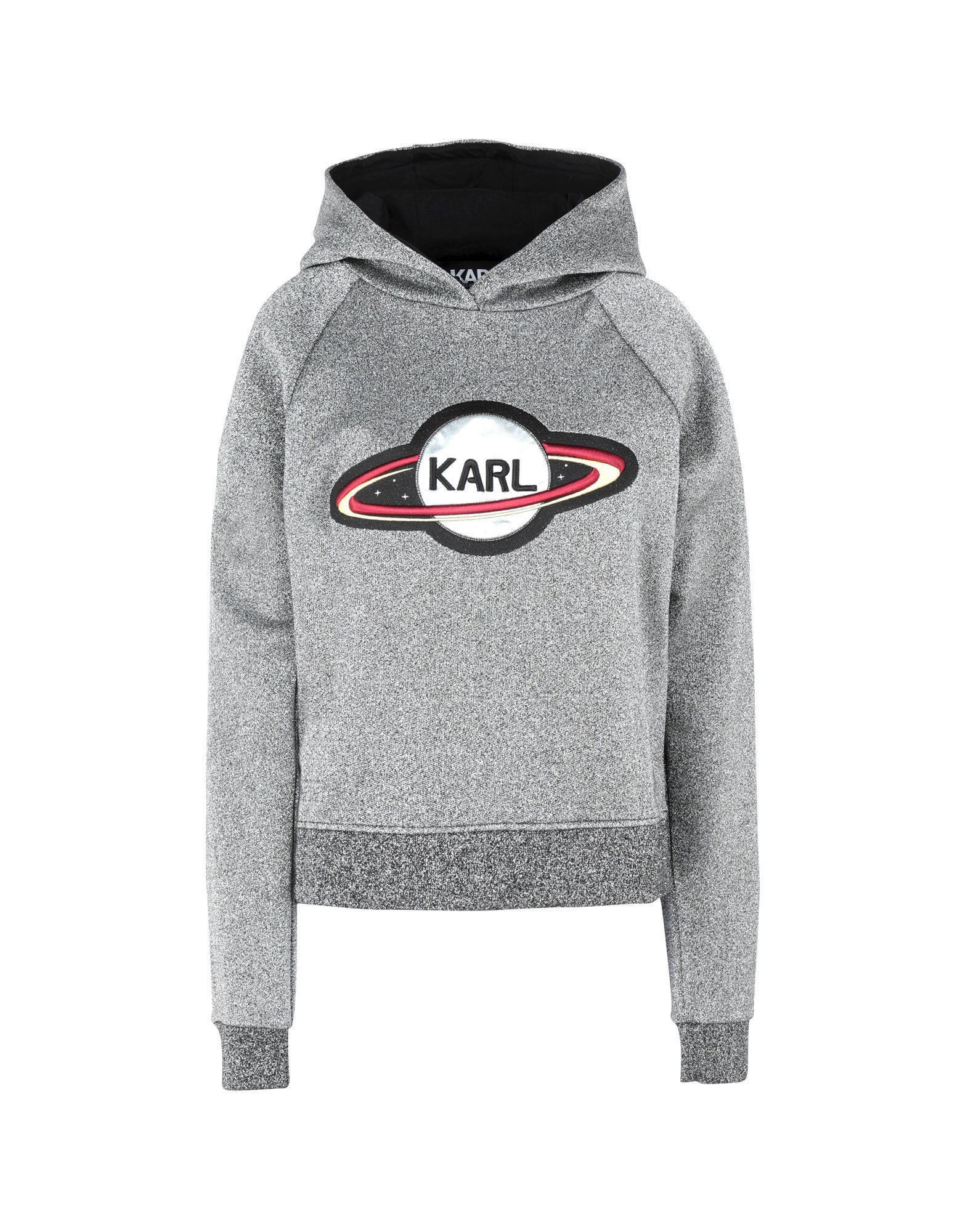 KARL LAGERFELD Толстовка толстовка серая с принтом karl lagerfeld kids ут 00019201