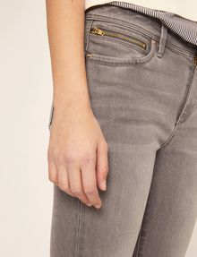 ARMANI EXCHANGE SUPER-SKINNY CROPPED GREY ZIPPER JEAN Skinny jeans [*** pickupInStoreShipping_info ***] b
