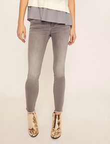 ARMANI EXCHANGE SUPER-SKINNY CROPPED GREY ZIPPER JEAN Skinny jeans [*** pickupInStoreShipping_info ***] f