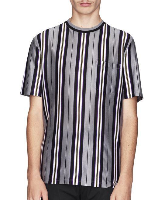 T-SHIRT A RIGHE IN JERSEY  - Lanvin