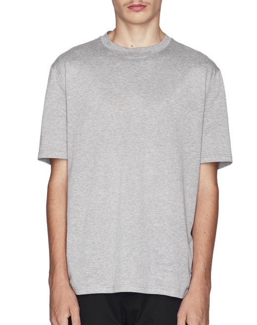 "T-SHIRT GRIGIA ""DOUBLE SHARK"" - Lanvin"