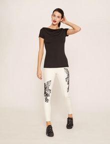 ARMANI EXCHANGE J10 SKINNY CROPPED FLORAL JEAN Skinny jeans [*** pickupInStoreShipping_info ***] d