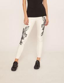 ARMANI EXCHANGE J10 SKINNY CROPPED FLORAL JEAN Skinny jeans [*** pickupInStoreShipping_info ***] f