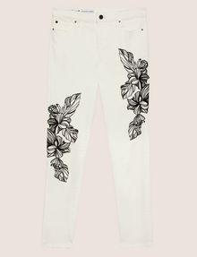 ARMANI EXCHANGE J10 SKINNY CROPPED FLORAL JEAN Skinny jeans [*** pickupInStoreShipping_info ***] r