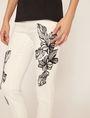 ARMANI EXCHANGE J10 SKINNY CROPPED FLORAL JEAN Skinny jeans Woman b